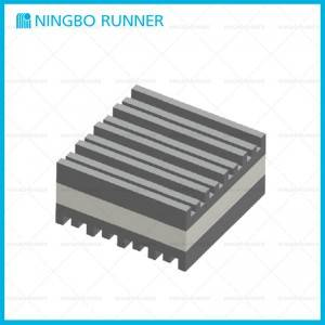 China Gold Supplier for Pipe Rod Hanger - Metal and Ribbed Pads – Ningbo Runner