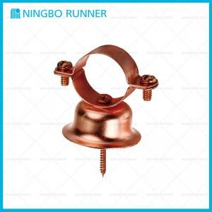 Factory directly Rigid Strut Clamp - Copper-plated Bell Hanger for Suspending Stationary Non-insulated Pipelines – Ningbo Runner