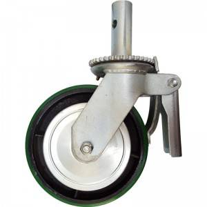 Scaffolding Swivel Castor Wheel for Scaffolding