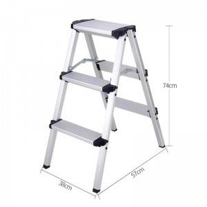 Top Quality Climbing Cone - Aluminum Alloy Multifunctional Telescopic & Folding Ladder – Sampmax