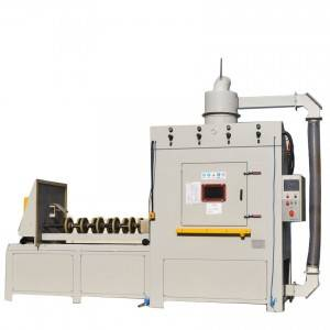 Custom High quality Roller Automatic turntable sandblaster equipment HST-101