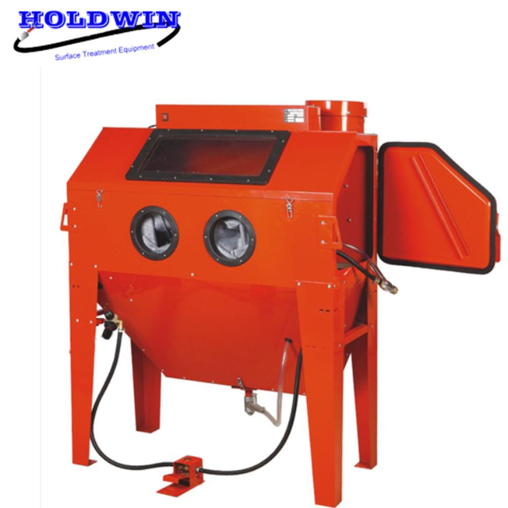 Steel Plate Blasting Machine - Holdwin Mini Sandblast Machine Portable Sandblasting Cabinet Rust Remove Sandblaster – Instant Clean