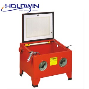 Steel Plate Blasting Machine - Holdwin Mini Sandblasting Cabinet Portable Sandblast Machine Small Workpiece Convenient Sandblaster – Instant Clean