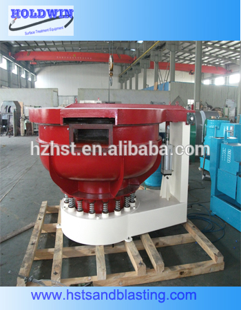 aluminum die casting vibratory polishing machine