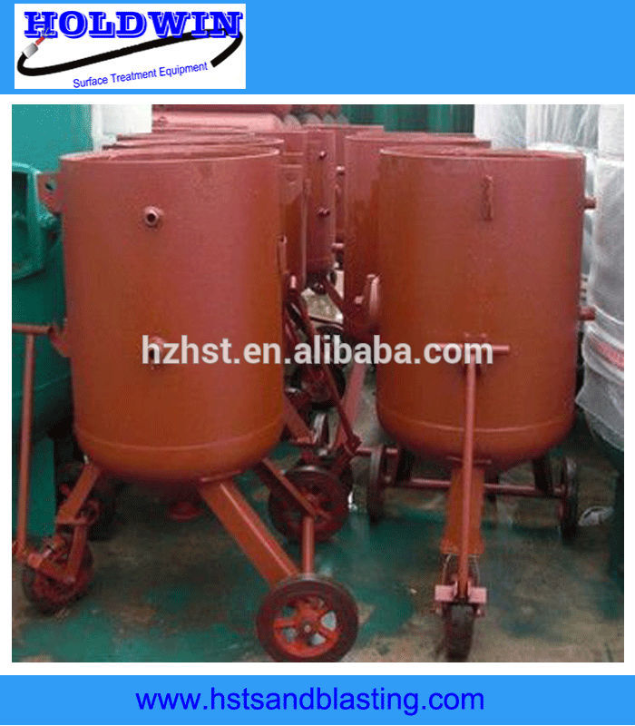 outdoor portable sand blasting pots