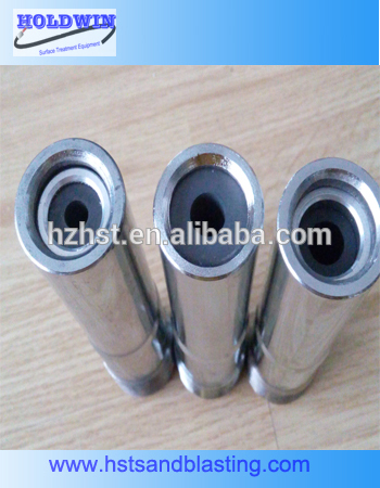 Small boron carbide nozzle