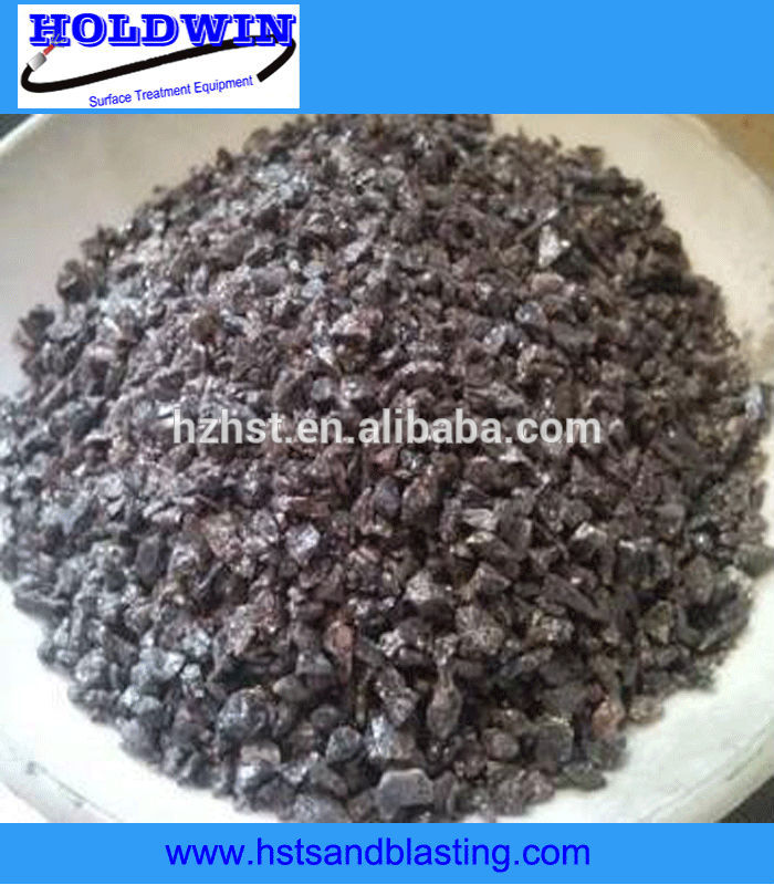 brown corundum blast abrasive for sandblasting