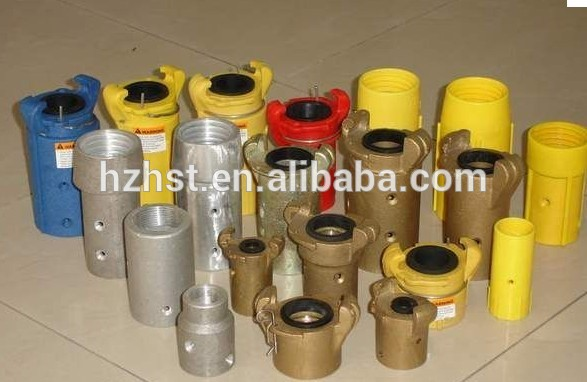 sandblast couplings and holder for nozzles