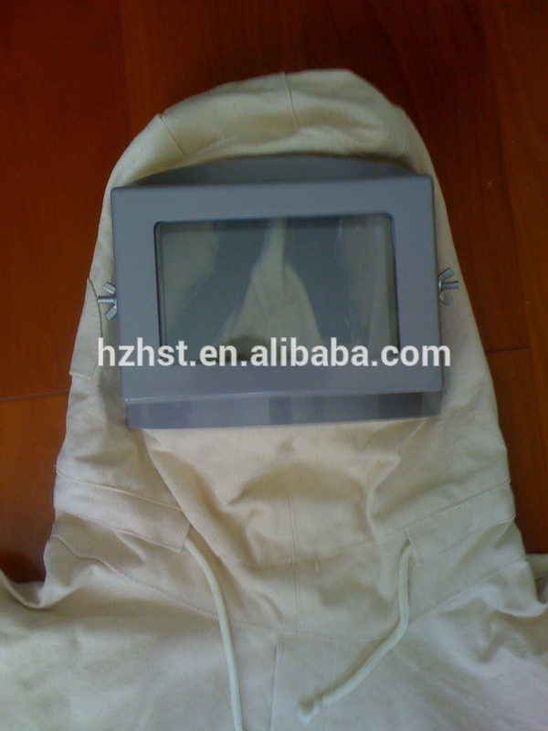 Sand blast clothes with hood protect from dust paint