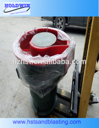 Factory wholesale Vibratory Tumbling Media - zinc died casting vibratory polishing machine – Instant Clean