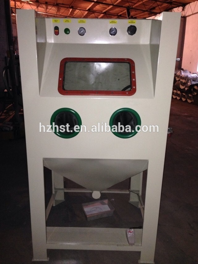 Manual Sandblast machine with filter dust collector