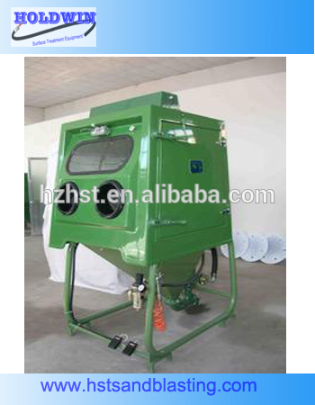 Wet abrasive blasting equipment