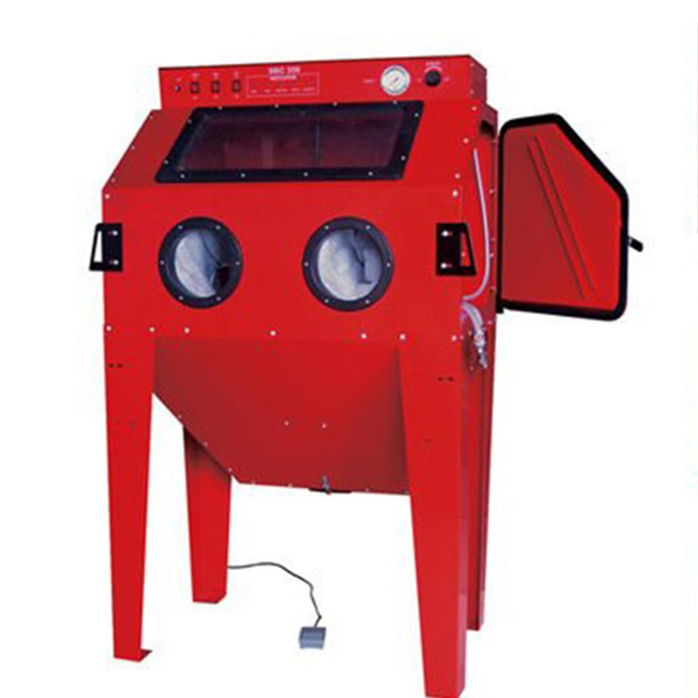 Shot Blasting - Holdwin Mini Sandbalst Machine Sandblaster Cabinet for Rust Remove Sandblasting SBC350 – Instant Clean