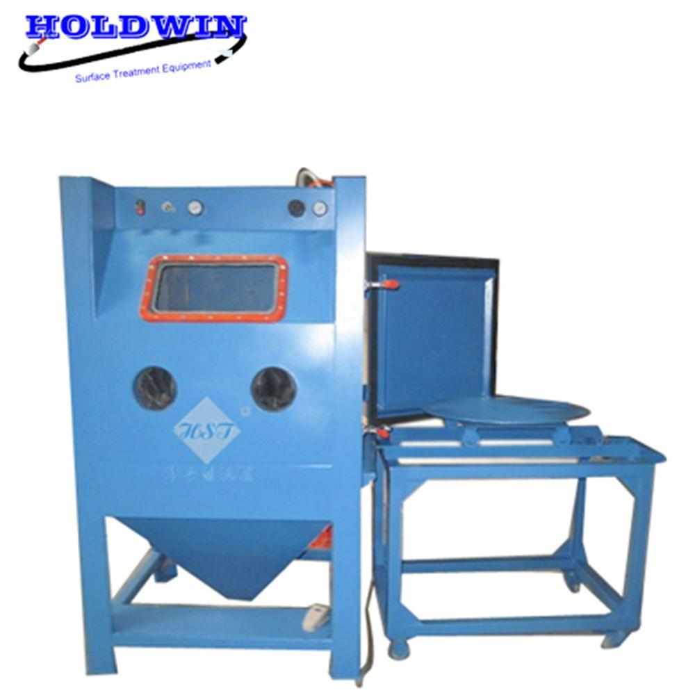 Holdwin CE Sand Blating Chamber Box Sandblaster Equipment Surface Blast Machine HST-1515
