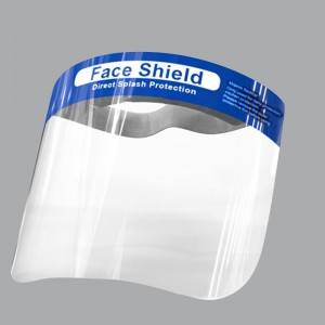 Factory making Nitrile Powder Free Gloves - PVC Face shield – Sandro