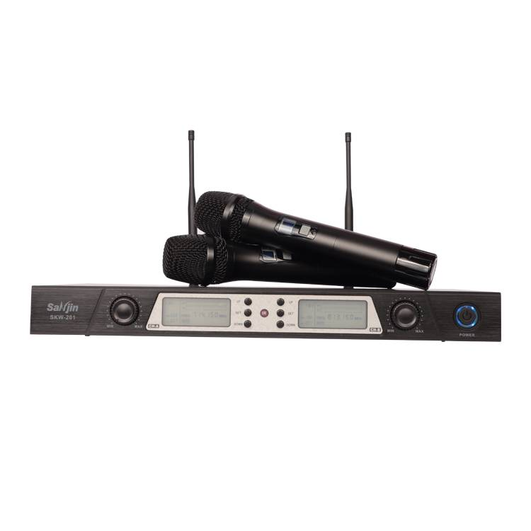 High quality wireless microphone Karaoke professional uhf handheld microphone Featured Image