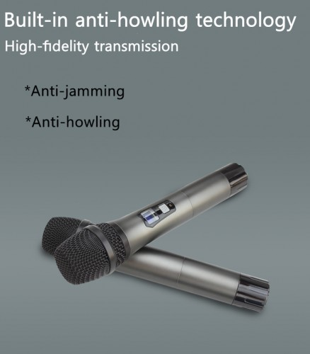 High quality wireless microphone Karaoke professional uhf handheld microphone