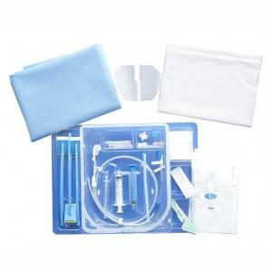 Central venous catheter pack