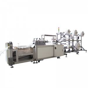 Factory wholesale Automatic Face Mask Making Machine - Butterfly mask machine – Sanying