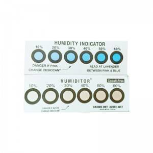 Humidity indicator card manufacturer customized 6-point humidity card environmental protection
