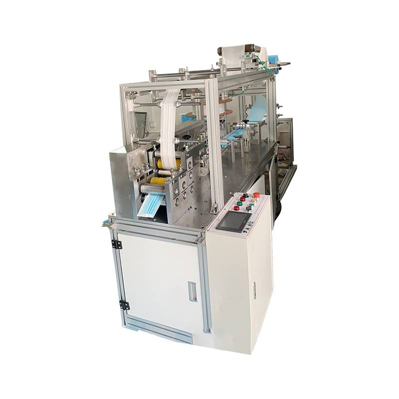 Elastic ear band integrated forming plane mask machine plane disposable elastic ear band mask machining Featured Image