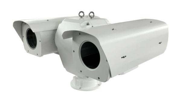 Infrared Thermal and Long Range Visible Camera For Border Security