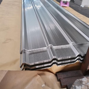 OEM/ODM Manufacturer Corrugated Floor Decking Sheet - Galvalume Corrugated Steel Sheet – Essar