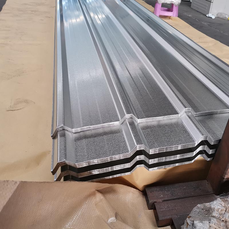 Top Quality Prepainted Corrugated Roofing Sheet - Galvalume Corrugated Steel Sheet – Essar