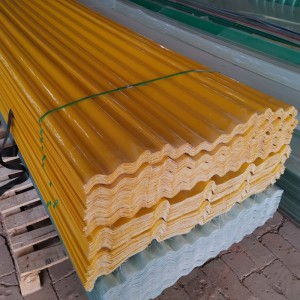 China OEM Corrugated Frp Wall Panel - Frp Plastic Roofing Sheet – Essar