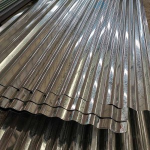 Rapid Delivery for Galvanised Corrugated Metal Sheets - Galvanized Corrugated Steel Sheet – Essar