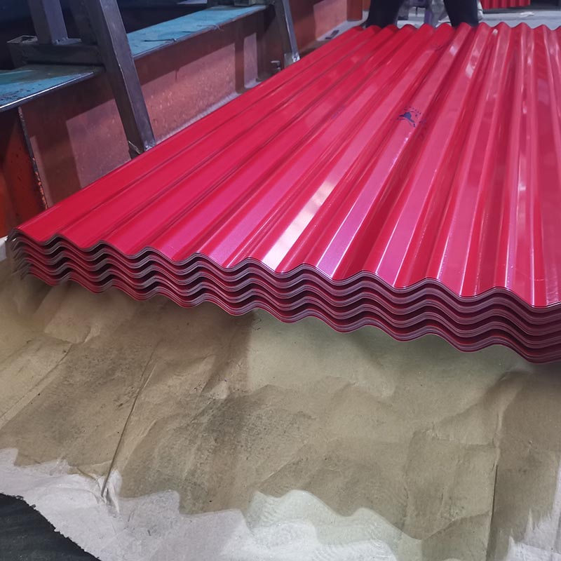 Chinese Professional Corrugated Galvanized Roofing - Prepainted Corrugated Steel Sheet – Essar
