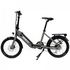 Factory wholesale Wholesalle City Electric Bikes - SEBIC Promotion 20 inch folding electric bikebicycle – Funncycle
