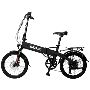 Factory Cheap Hot Foldable Electric Bike - SEBIC 20 inch 8 speed suspension 48v 500w folding electric bike – Funncycle