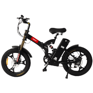 2021 Good Quality Road Bike Manufacturer - SEBIC Foldable heavy fat tyre full suspension 20 inch moutain electric bike – Funncycle