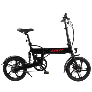 Massive Selection for City Bike Electric Vintage - SEBIC 16 inch small tire foldable electric bike – Funncycle
