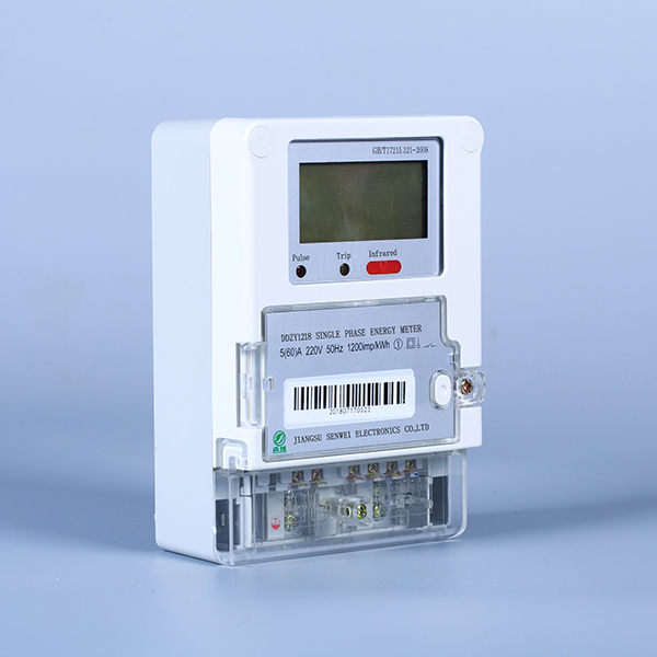 Manufactur standard Electricity Counter Meter - Single-phase multi-function electronic energy meter – Senwei detail pictures