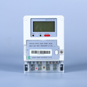 Single-phase multi-function electronic energy meter