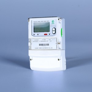 Three-phase multi-function electronic energy meter