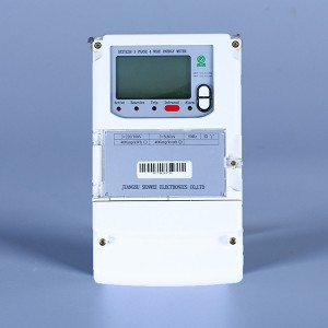 3Phase 4wire prepaid energy meter(remote)