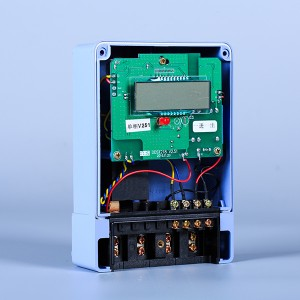 Single-phase simple multi-function electronic energy meter
