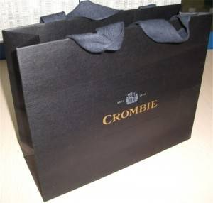 Customized Luxury Paper gift bag