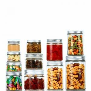 Wholesale Glass Storage Jar For Food Factories - Glass Straight Sided Mason Canning Jars – Sogood