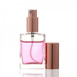 30ML Glass Refillable Perfume Square Portable Bottle