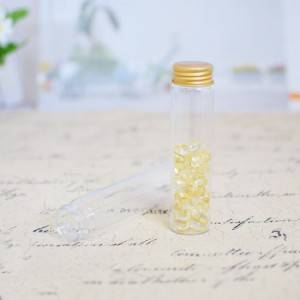 Good Quality Mini Bottle With Cork - Borosilicate Tube Vials with Aluminum Screw Cap(D30) – Sogood