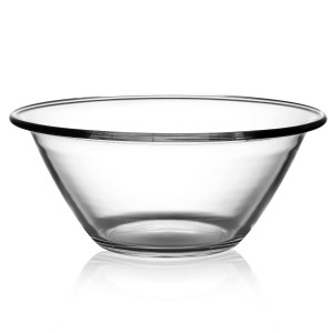Transparent salad bowls on sale