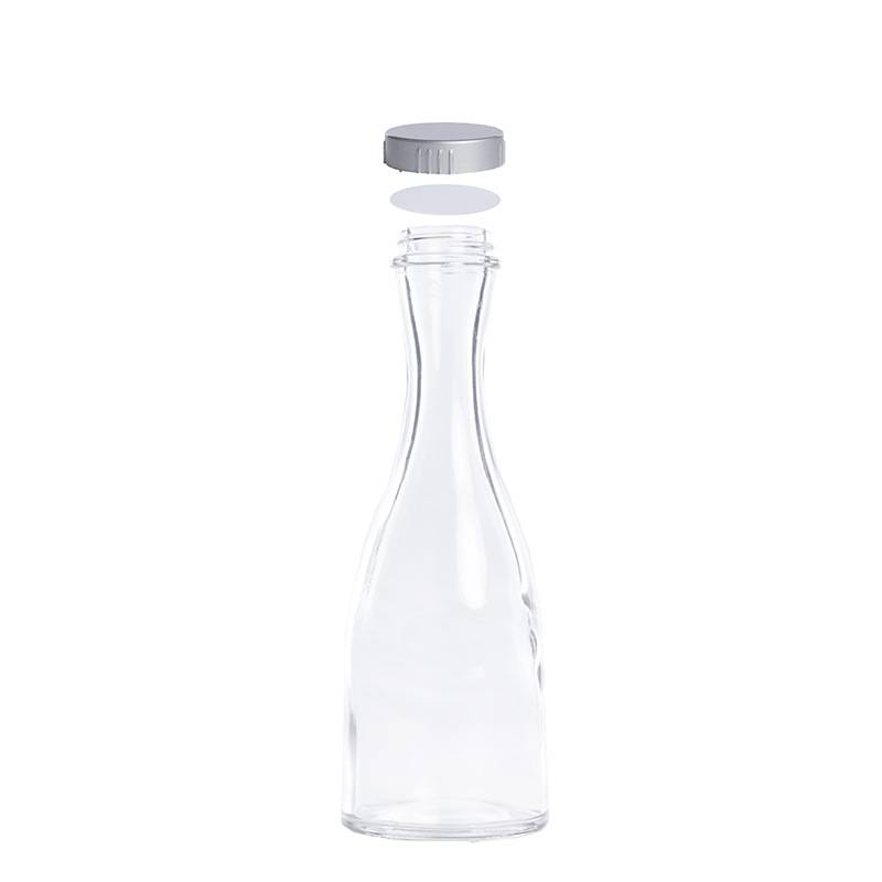 Hot sell clear wine beverage glass bottle Featured Image