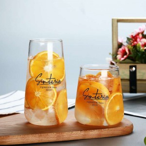 Double Wall Glass Mug for Coffee Tea