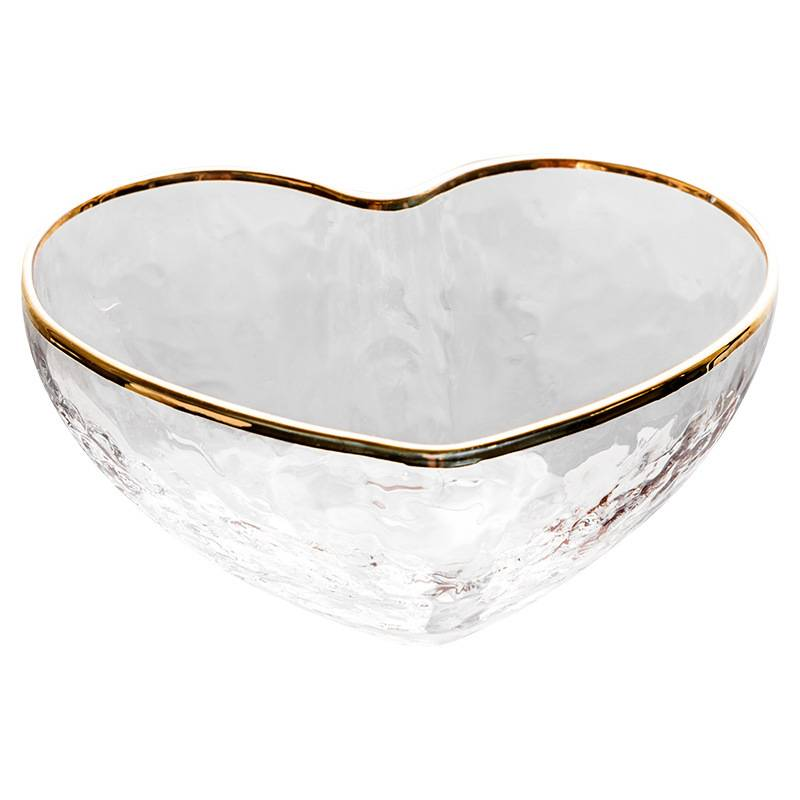 Heart-shaped glass salad bowls on sale Featured Image