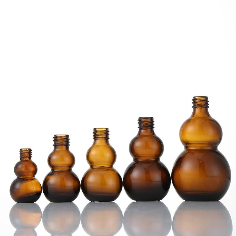 Wholesale Oil Bottle Suppliers - Amber Essentia Glass Bottles with Glass Droppers – Sogood