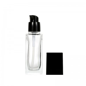 Lotion Pump Liquid Foundation Glass Bottle
